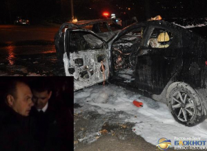В Ростовской области инспектор ДПС, отметивший День полиции аварией, попал на видео