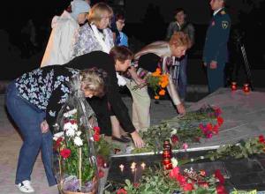 В Волгодонске почтили память жертв теракта