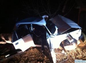 В Ростовской области пьяный водитель ВАЗ-2107 врезался в две опоры ЛЭП: 5 травмированы