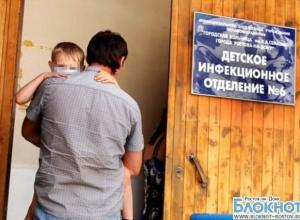 В Ростовской области сохраняется сложная ситуация по энтеровирусу