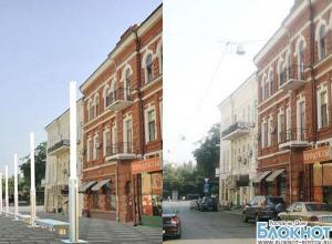 В Ростове представлены эскизы пешеходной зоны по переулку Соборному
