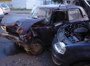 В Ростовской области в ДТП пострадали четыре человека, в том числе двое детей
