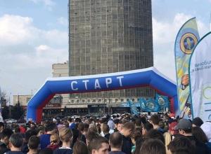 В Ростове-на-Дону стартовал массовый 40-километровый забег