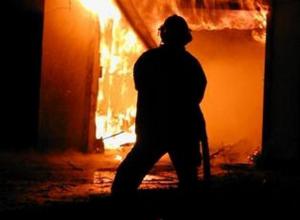 На заводе «Тагмет» горел цех тарохранения извести