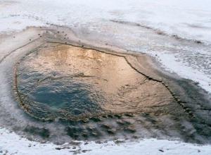 В Ростовской области под лед провалился 13-летний ребенок