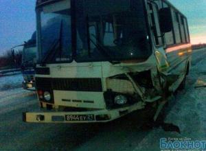 В Ростовской области автобус с военными попал в ДТП, есть пострадавшие