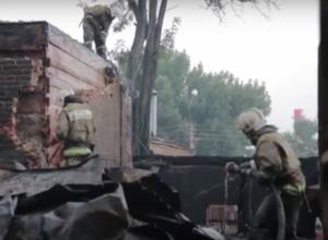 Полицейские возбудили уголовное дело по факту поджога частного сектора в центре Ростова