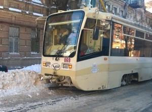 В Ростове частично восстановлено трамвайное движение