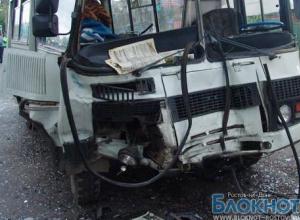 В Ростовской области автобус с шахтерами попал в ДТП