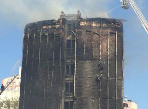 Сгоревшую в центре Ростова гостиницу планируют отремонтировать в ближайшее время