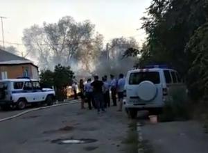 В ликвидации страшного пожара принимали участие 160 полицейских Ростова