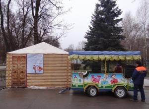В Ростове резиденцию Деда Мороза закрыли на реконструкцию