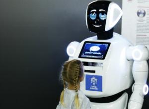 Возможность посмотреть на уникальных роботов появилась у детей Ростова