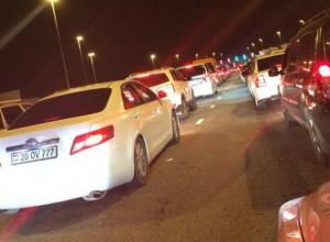 Сотни автомобилистов заплатили за многочасовое стояние в пробке на платной дороге под Ростовом
