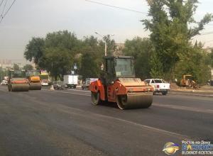 В Ростове близится к завершению капремонт улицы Штахановского