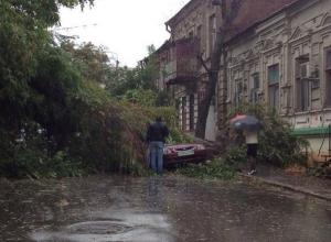 В Ростовской области из-за разгула стихии 1 человек погиб, 31 пострадал