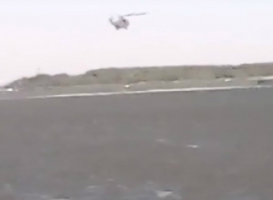 К тушению пожара в Ростове привлекли вертолеты Росгвардии