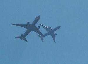 Опасное сближение пассажирских самолетов в небе над Ростовом едва не привело к авиакатастрофе