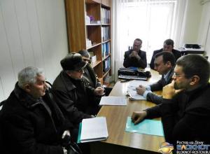Руководство ОАО «Энергосбыт Ростовэнерго» встретилось  с инициативной группой протестующих пенсионеров Зверево