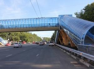 Важнейшую автомагистраль Ростова решили обустроить пешеходным мостом