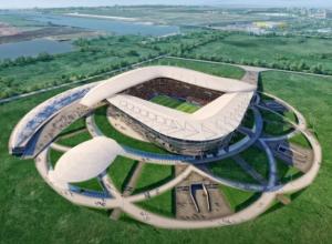 Строительство ростовского стадиона к ЧМ-2018 ведется с отставанием графика