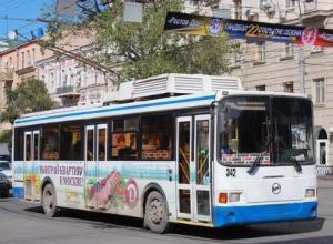 В понедельник троллейбусы могут не вернуться на Большую Садовую
