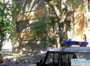 В Ростове в жилом доме рухнула стена
