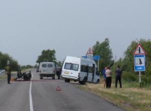 В Ростовской области произошли два ДТП с участием маршруток