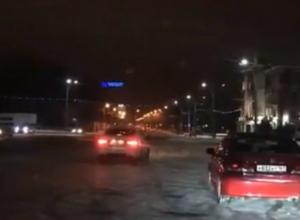 Опасные гонки мажористых дрифтеров по встречке в центре Ростова попали на видео