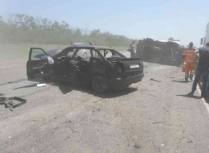 Трехмесячная девочка погибла в ДТП под Ростовом