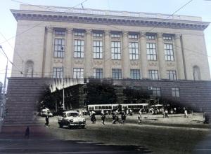 Тогда и сейчас: здание Высшей партийной школы в Ростове
