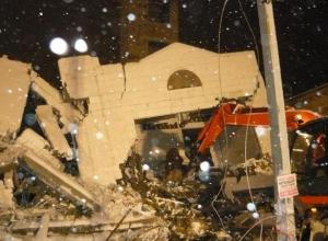 В Таганроге завершено расследование обрушения строящегося дома, при котором погибли пять человек
