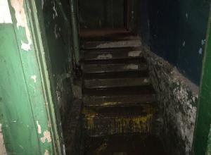 Ужасный потоп в многоквартирном доме жители Ростова сняли на видео