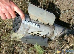 В Ростовской области обнаружен снаряд системы «Град»