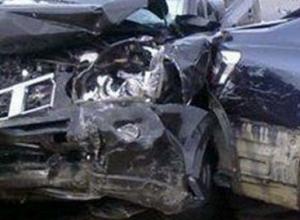 В Ростовской области при столкновении трех машин пострадали три человека
