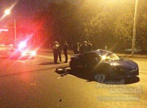 Убегавший от полицейских «кладмен» погиб под колесами элитной иномарки в центре Ростове
