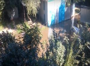 В плавучий остров превратились дома целой улицы в Ростове-на-Дону