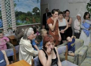 В донские пункты временного размещения возвращаются беженцы из Украины