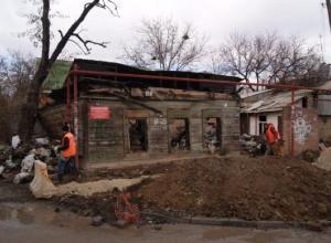 В Ленинском районе ликвидируют свалку