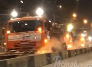 Экстренная расчистка улиц 140 снегоуборщиками в Ростове попала на видео