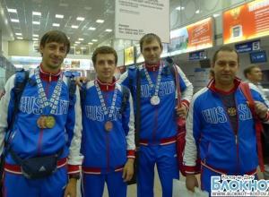 В Ростове встретили героев Сурдлимпиады