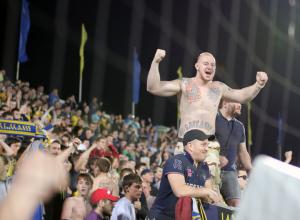 Футбольный клуб «Ростов» оштрафовали на 180 тысяч из-за поведения болельщиков