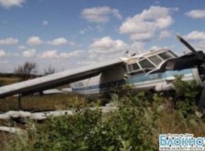 В Ростовской области пилот рухнувшего АН-2 сбежал с места ЧП