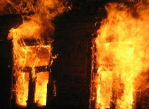 В Ростовской области на пожаре погибли два человека