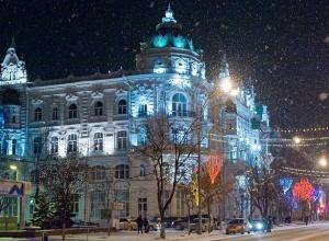 В Ростове к 10 декабря установят 86 новогодних елок