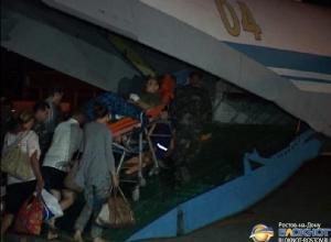 Cамолет с ранеными украинскими военнослужащими на борту вылетел из Ростова. Видео
