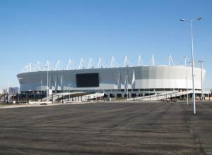 Футбольные фанаты прокатятся на стадион в автобусах-шаттлах за 15 млн рублей в Ростове