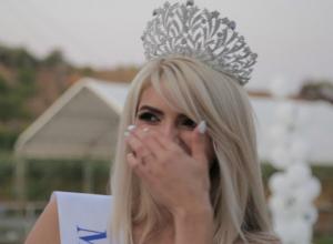 У победительницы конкурса «Мисс Блокнот Ростов - 2017»  Надежды Полянской земля ушла из-под ног от счастья
