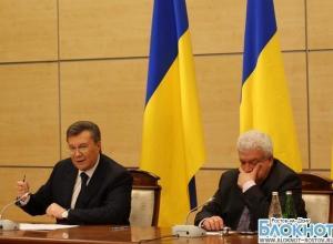 На пресс-конференции в Ростове Виктор Янукович находился на грани нервного срыва