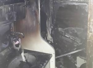 Пассажирский поезд с людьми загорелся под Ростовом